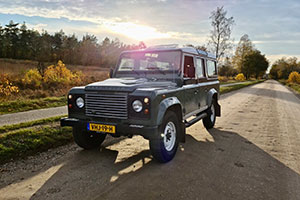 Huisje James Land-Rover Experience